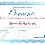2014 Ocenenie štandardu kvality